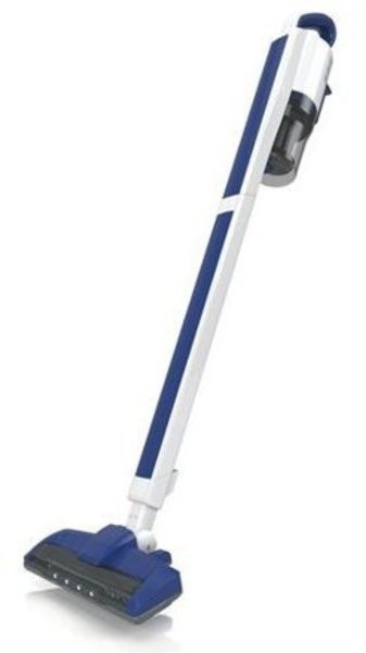 The ReadiVac Eaze is a convertible 3-speed stick vacuum cleaner. This Vacuum is Light weight and maneuvers really easy on all types of surfaces and around chairs and underneath tables. The vacuum comes with 3 speeds, Low, Medium and High. A stand is provided for easy tucked away storage. Its Battery lasts up to 40 minutes on low speed. Eaze can be used as a Handheld, Handheld with the Bristle Brush head and as a complete Stick Vac. The Roller Brush can be easily taken out for cleaning.