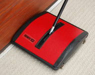 Durable Hoky sweeper is an excellent choice for silent dustless cleaning. A #1 choice for restaurants.