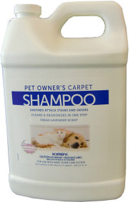 128 oz. Used with Kirby Home Care Systems or other carpet care systems Great for pet owners Fresh lavender scent Enzymes removes stains and odors and leaves no dirt attracting residue Safe for pets and children 4 per case OEM # 237507S