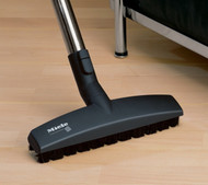 The natural bristles contained within the Parquet Floor Brush enable it to glide effortlessly across smooth, scratch-sensitive flooring, allowing a gentle yet thorough cleaning process with less physical input. For use with all series canister vacuums.