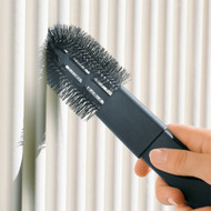 Provides quick and efficient cleaning of radiators, vents or other small spaces.