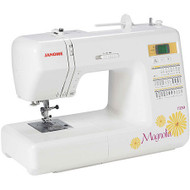 The Magnolia 7330 is the most advanced machine in the Magnolia Line. Perfect for creating any kind of home decor or sewing project, it enables you to add your personal flair to your home and wardrobe. You'll get 30 decorative stitches, and lots of great automatic features. Incorporating the same Janome precision and technology that goes into all of our machines, the Magnolia 7330 helps you define yourself at a great price.