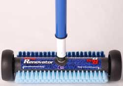 CS-8012 - CWP RENOVATOR BRUSH: Use this applicator brush with CWP Rug Renovator, Host or Capture Dry Cleaning products. No cord, No motor, not hassle, no problems! Easy and safe!