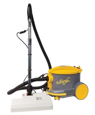 JV AS6380EZ is a substantial commercial dry vac suitable for cleaning all surfaces. The AS6380EZ is equipped with a commercial grade power nozzle suitable for cleaning most carpet styles. All accessories are included for various applications: Dusting brush, Crevice tool, Bare Floor tool and upholstery tool.