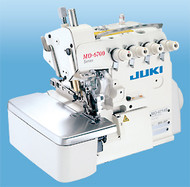 A general-purpose advanced machine that responds to various kinds of sewing materials and processes. The MO-6700S Series responds to various kinds of sewing materials and processes, producing delicate and beautiful soft-to-the-touch seams while further reducing operating noise as well as increasing durability. This is a highly advanced cost-effective machine.