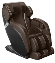 "MC8890 Extra Wide Zero Gravity Whole Body Leather Massage Chair - BROWN. The BEST Deep 3D Massage Chair for Your Whole body - ZERO Gravity with Heat Therapy, Lumbar Spinal Therapy, Foot Reflexology Roller & More Stress and pain are two things we can do without, and the massage chair is your solution to those problems, and many more.  Featuring a full body Shiatsu deep tissue massage with custom and pre-programmed options. Based on NASA zero gravity theory, this chair offers the most comfortable position with an intelligent space saving design, which allows it to be place only 3"" from a wall."