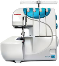 Janome 4/thread serger coming soon!