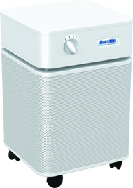 » HealthMate Plus™ - WHITE Ultimate protection for people with chemical sensitivity. The Austin Air HealthMate+™ has been developed for people living in smaller spaces who are chemically sensitive and require the most comprehensive air cleaning solution.