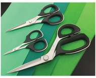 This is a set of 3 Kai Professional scissors in popular sewing sizes.