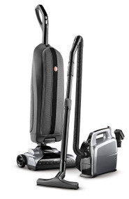 PLATINUM COLLECTION BAGGED UPRIGHT VACUUM & BAGGED CANISTER VACUUM COMBO The Platinum Upright removes stubborn dirt and comes with a versatile, portable canister vacuum for floor to ceiling cleaning. With intuitive features, this lightweight vacuum is designed with you in mind.