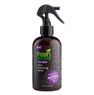 lavender 8 oz. odor removing spray SKU: 117 Rated:  Empty Star  Empty Star  Empty Star  Empty Star  Empty Star Introducing Fresh Wave Lavender Odor Removing Spray: The same odor removing power of Fresh Wave, now infused with lavender oil. Known for its calming properties, the addition of lavender gives a boost to our trusted Fresh Wave best sellers. Now you can remove odors with lasting, relaxing lavender essence.