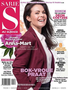 Sarie Magazine Cover Sept 2015
