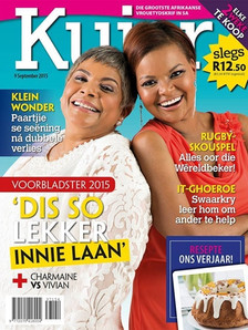 Kuier Magazine Cover Sept 2015