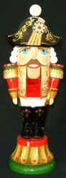 REGAL PROUD HAND CARVED & HAND PAINTED RUSSIAN NUTCRACKER STATUETTE #2748