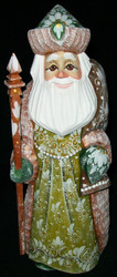 DELIGHTFUL RUSSIAN HAND PAINTED OLD WORLD SANTA CLAUS #8911 GRANDFATHER FROST