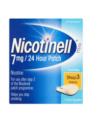 For guaranteed results, try Nicotinell TTS10 Patch 7mg. Delivered in the UK for FREE. OFFERS each and every day. Be quick, Buy Now.