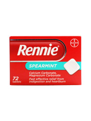 For rapid results, try Rennie Spearmint Tablets. Delivered for FREE in the UK. Giving you best value, all the time. Act quickly, Buy Now.