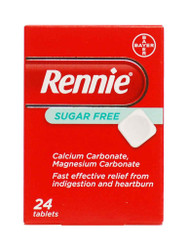 For quick results, try Rennie Sugar Free Tablets. FREE Delivery in the UK. Why not benefit from our daily NEW offers? Hurry, Buy Now.