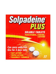 For great results, try Solpadeine Plus Soluble Tablets. Fast UK Delivery for FREE. Why not benefit from our daily NEW offers? Be quick, Shop Now.