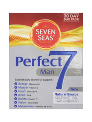 Want fast results, try Seven Seas Perfect 7 Man Day Supply. Fast, FREE UK Delivery. New exclusive OFFERS each and every day. Hurry, Buy Now.