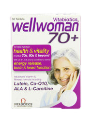 For guaranteed results, try Well Woman 70+ Tablets by Vitabiotics. Delivered fast and FREE in the UK. OFFERS each and every day. Hurry, Buy Now.