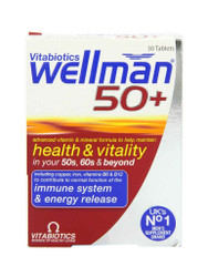 For great results, try WellMan 50+ Vitamins by Vitabiotics Tablets. Delivered fast in the UK for FREE. OFFERS each and every day. Don't miss out, Shop Now.