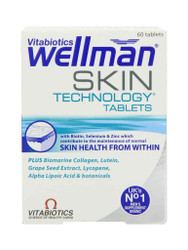 Need results, choose WellMan Skin Technology Tablets by Vitabiotics. FREE Delivery in the UK. New exclusive OFFERS each and every day. Don't miss out, Buy Now.