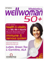 Discover WellWoman 50+ Tablets by Vitabiotics. Fast UK Delivery for FREE. Amazing NEW bargains every day. Don't miss out, Shop Now.