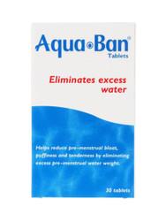 Aqua Ban Diuretic Water Retention Tablets - 30