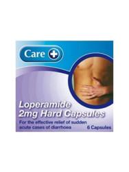Care Diarrhoea Relief Lopermide 2mg Capsules - 6