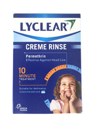 Lyclear 10 Minute Creme Rinse Head Lice Treatment - 2 x 59ml