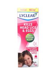 Lyclear Head Lice & Eggs Lotion - 100ml
