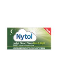 Nytol Herbal Simply Sleep One A Night Insomnia Sleeping Tablets - 21