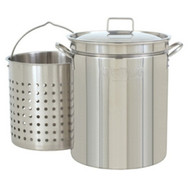 Bayou Classic Stainless 36-Quart Stockpot