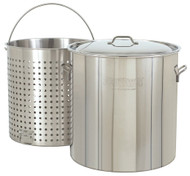 Bayou Classic Stainless 142-Quart Stockpot