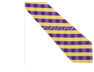 LSU WP Checkered Tie