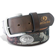 LSU Nylon Mossy Oak Belt