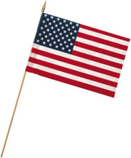"4""x6"" US Stick Flag"