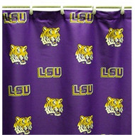 LSU Shower Curtains