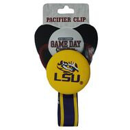 LSU Pacifier Clip