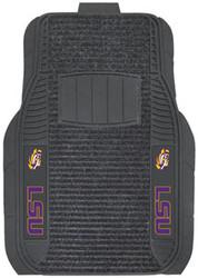LSU Deluxe 2Pc Car Floor Mat