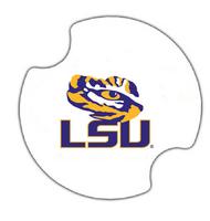 LSU Ceramic Car Coaster