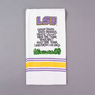 LSU Hand Towel