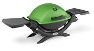 Weber Q1200 Green Grill