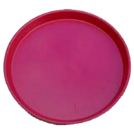 Sup-R Platter Crawfish Tray Red