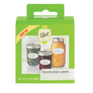 Ball Dissolvable labels 60pk
