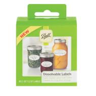 Ball Dissolvable labels 60pk