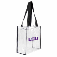 LSU Clear Carryall Square Tote