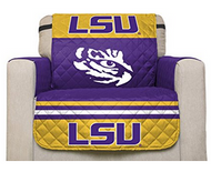 LSU Reversible Chair Furniture Protector