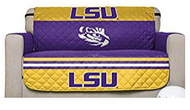 LSU Reversible Love Seat Furniture Protector